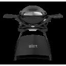 Weber® Q 2400 se stojanem - tmavě šedý