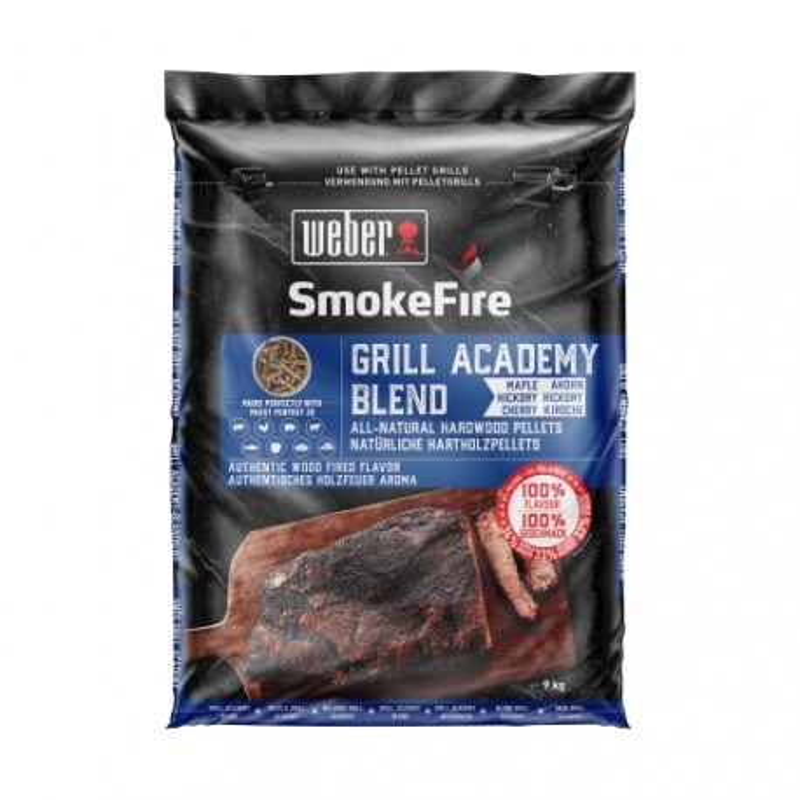 Weber Smokefire dřevěné pelety Grill Academy 9kg
