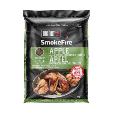 Weber Smokefire dřevěné pelety Apple 9kg