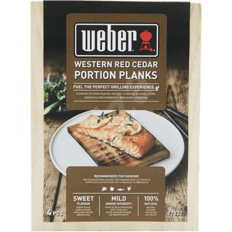 Weber® udící prkénka z červeného západního cedru
