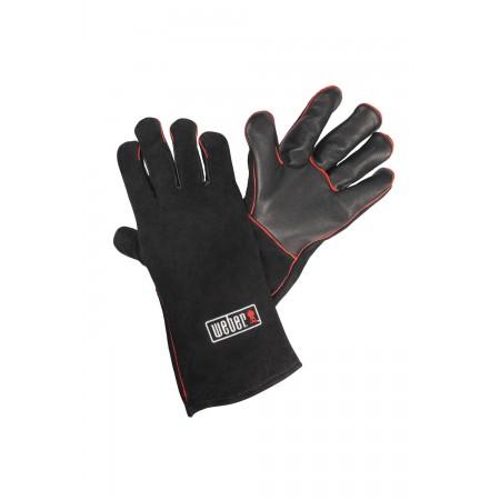 Kožené rukavice na grilování
