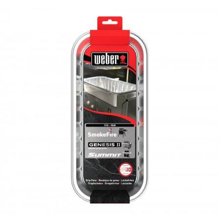Weber odkapávací misky pro SmokeFire, Genesis a Summit 10ks