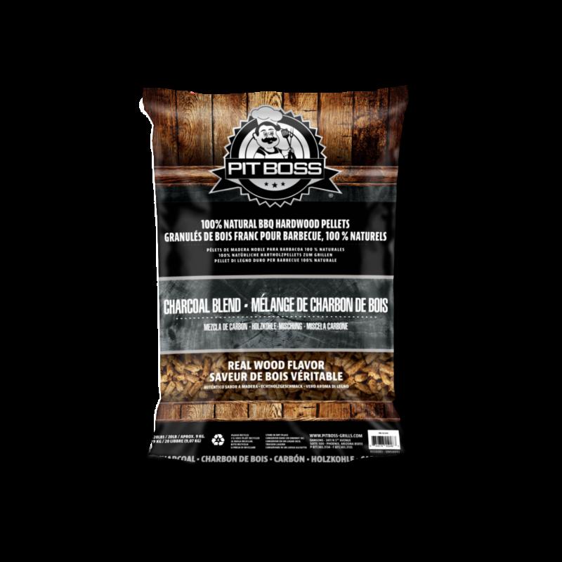 Dřevěné pelety Charcoal Blend 9 kg  Pit Boss