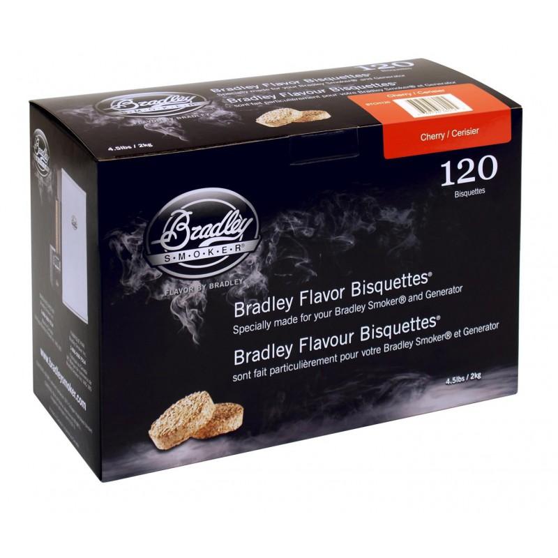 Třešeň 120 ks - Brikety udící  Bradley Smoker