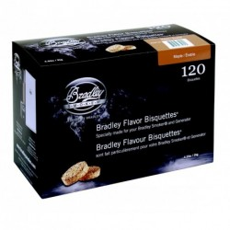 Javor 120 ks - Brikety udící  Bradley Smoker