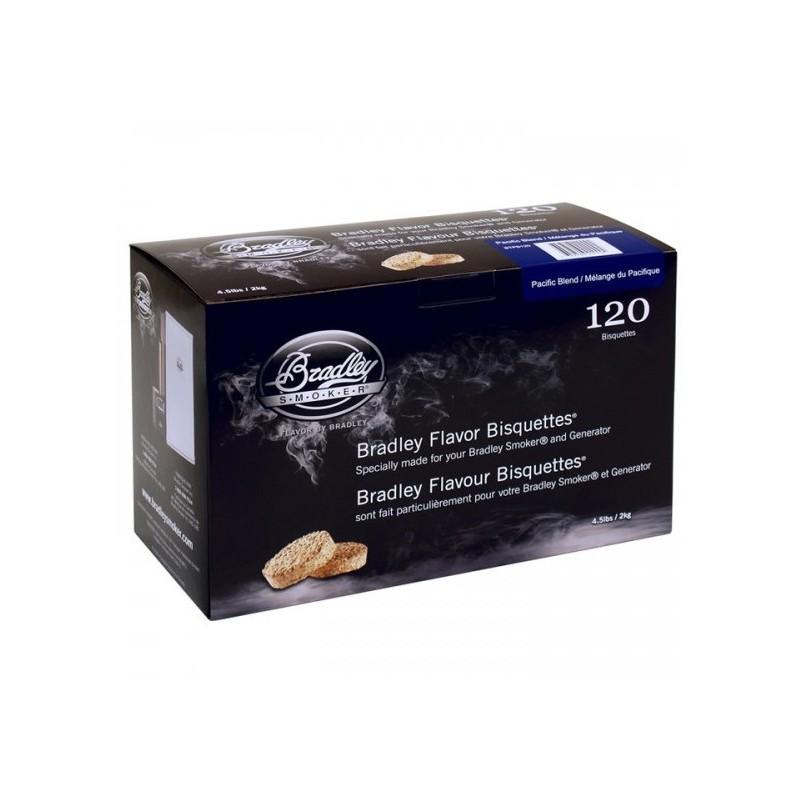 Pacific Blend 120 ks - Brikety udící  Bradley Smoker