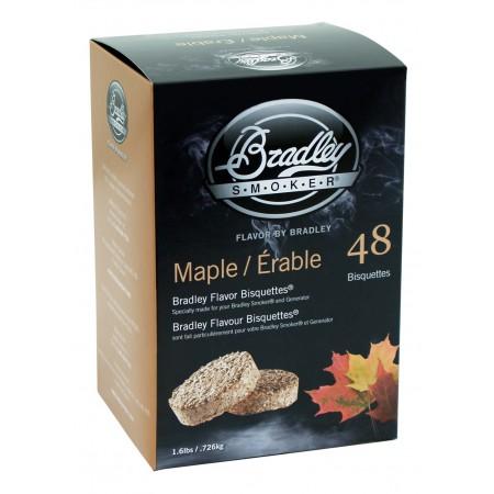 Javor 48 ks - Brikety udící Bradley Smoker