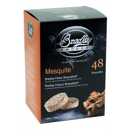 Mesquite 48 ks - Brikety udící Bradley Smoker