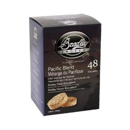 Pacific Blend 48 ks - Brikety udící Bradley Smoker