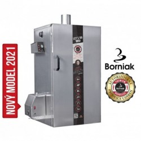 Udírna BBQ digitální nerez BBDS-150 Simple Borniak