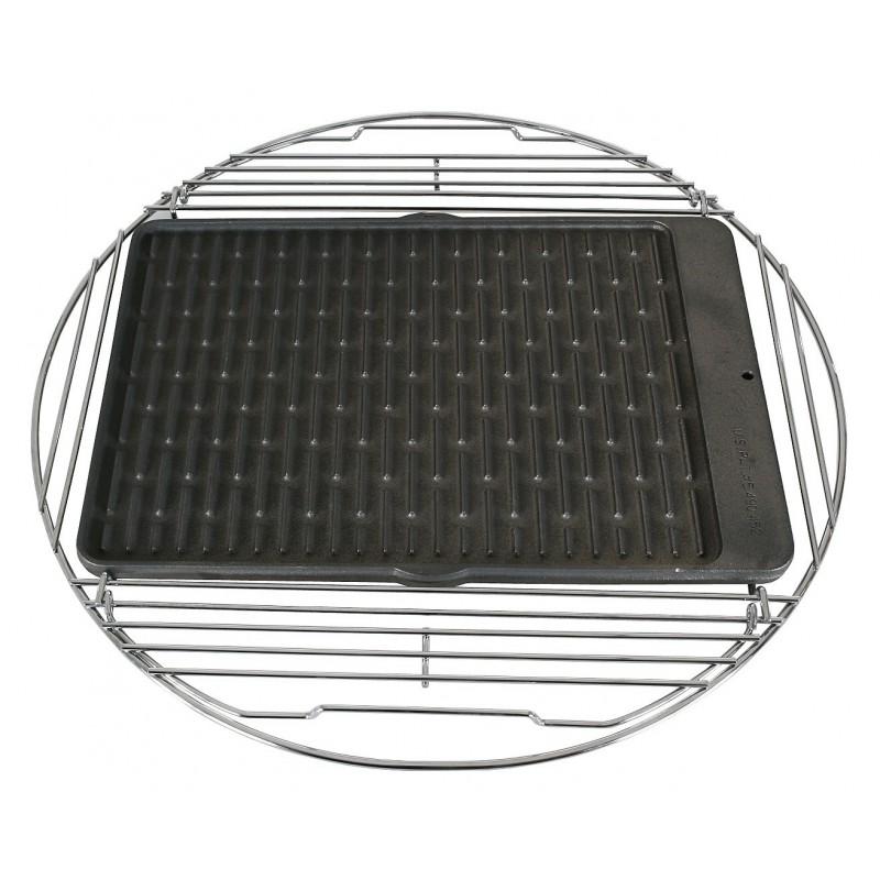 Litinový tál oboustranný pro BBQ 57cm